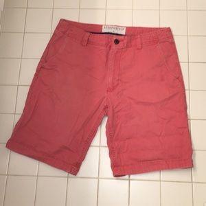 Pink men's shorts